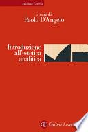 Introduzione all estetica analitica