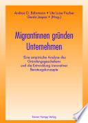 Migrantinnen gründen Unternehmen