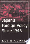 Japan s Foreign Policy Since 1945