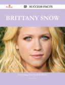 Brittany Snow 89 Success Facts - Everything you need to know about Brittany Snow