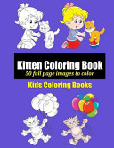 Kitten Coloring Book