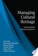 Managing Cultural Heritage book