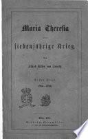 Geschichte Maria Theresia's von Alfred Ritter von Arneth