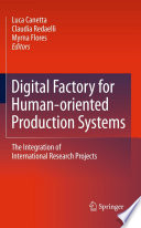 Digital Factory for Human oriented Production Systems