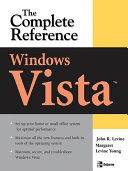 Windows Vista  The Complete Reference