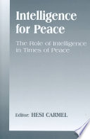 Intelligence for Peace