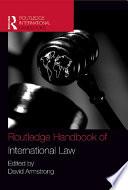 Routledge Handbook of International Law