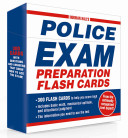 Norman Hall s Police Exam Preparation Flash Cards