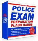 Norman Hall s Police Exam Preparation Flash Cards