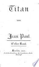 Titan. - Berlin, Matzdorff 1800-1803