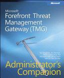Microsoft Forefront Threat Management Gateway Tmg  book