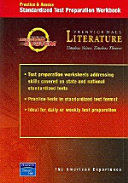 Prentice Hall Literature Timeless Voices Timeless Themes 7th Edition Test Preparation Workbook Grade 11 2002c