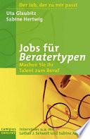 Jobs für Beratertypen
