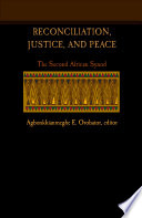 Reconciliation Justice And Peace
