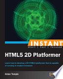 Instant HTML5 2D Platformer
