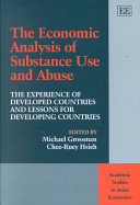 Economic Analysis of Substance Use and Abuse