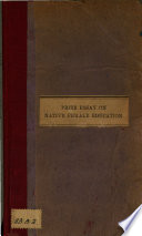 Prize Essay on Native Female Education Book PDF
