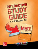Glencoe Math Accelerated 2017  Interactive Study Guide