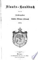 Staatshandbuch für das Großherzogtum Sachsen