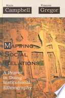 Mapping Social Relations