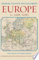 Europe  c 1400 1458