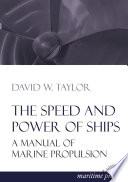 The Speed And Power Of Ships book