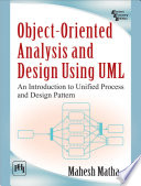 Object Oriented Analysis and Design Using UML