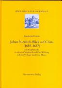 Johan Nieuhofs Blick auf China (1655-1657)