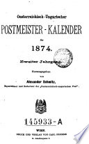 Postmeister-Vereins-Kalender