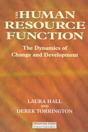 The Human Resource Function