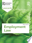 Employment Lawcards 2012 2013