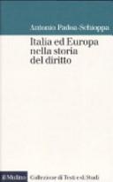 Italia ed Europa nella storia del diritto