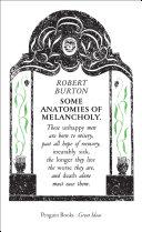 download ebook some anatomies of melancholy pdf epub