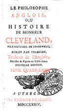 Histoire de Monsieur Cleveland, Tome I