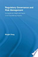 Regulatory Governance and Risk Management
