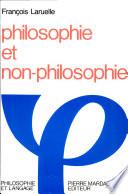 illustration Philosophie et non-philosophie