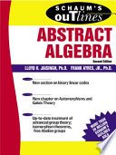 Schaum s Outline of Abstract Algebra