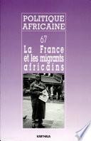 La France et les Mingrants Africans