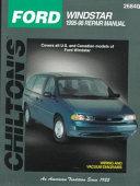Chilton s Ford Windstar 1995 98 Repair Manual
