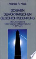 Dogmen Demokratischen Geschichtsdenkens book