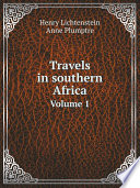 Travels in southern Africa