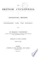 The British Cyclopaedia of Literature, History, Geography, Law and Politics