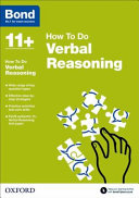 Bond 11   Verbal Reasoning  How to Do