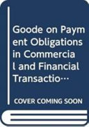 Goode on Payment Obligations in Commercial and Financial Transactions