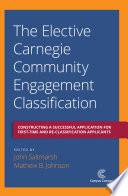 The Elective Carnegie Community Engagement Classification