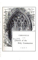 Chronicle of the Church of the Holy Communion