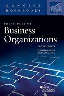 Principles of Business Organizations