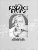 University of Michigan Transportation Research Institute Research Review
