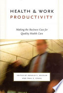 Health and Work Productivity
