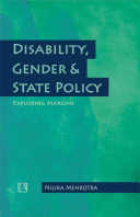 Disability  Gender and State Policy
